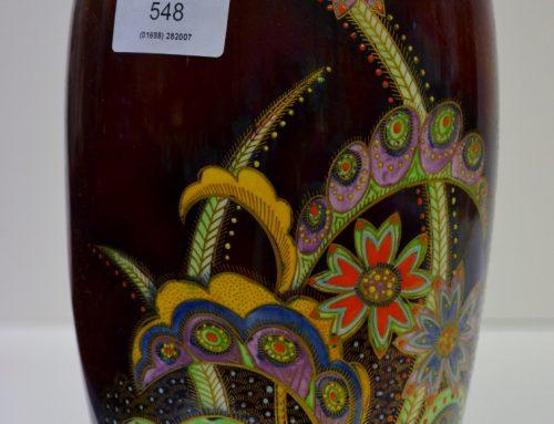 a rare Carlton Ware vase – Sold for £740 !