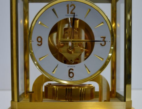 Jaeger LeCoultre Atmos mantel clock – sold for £850